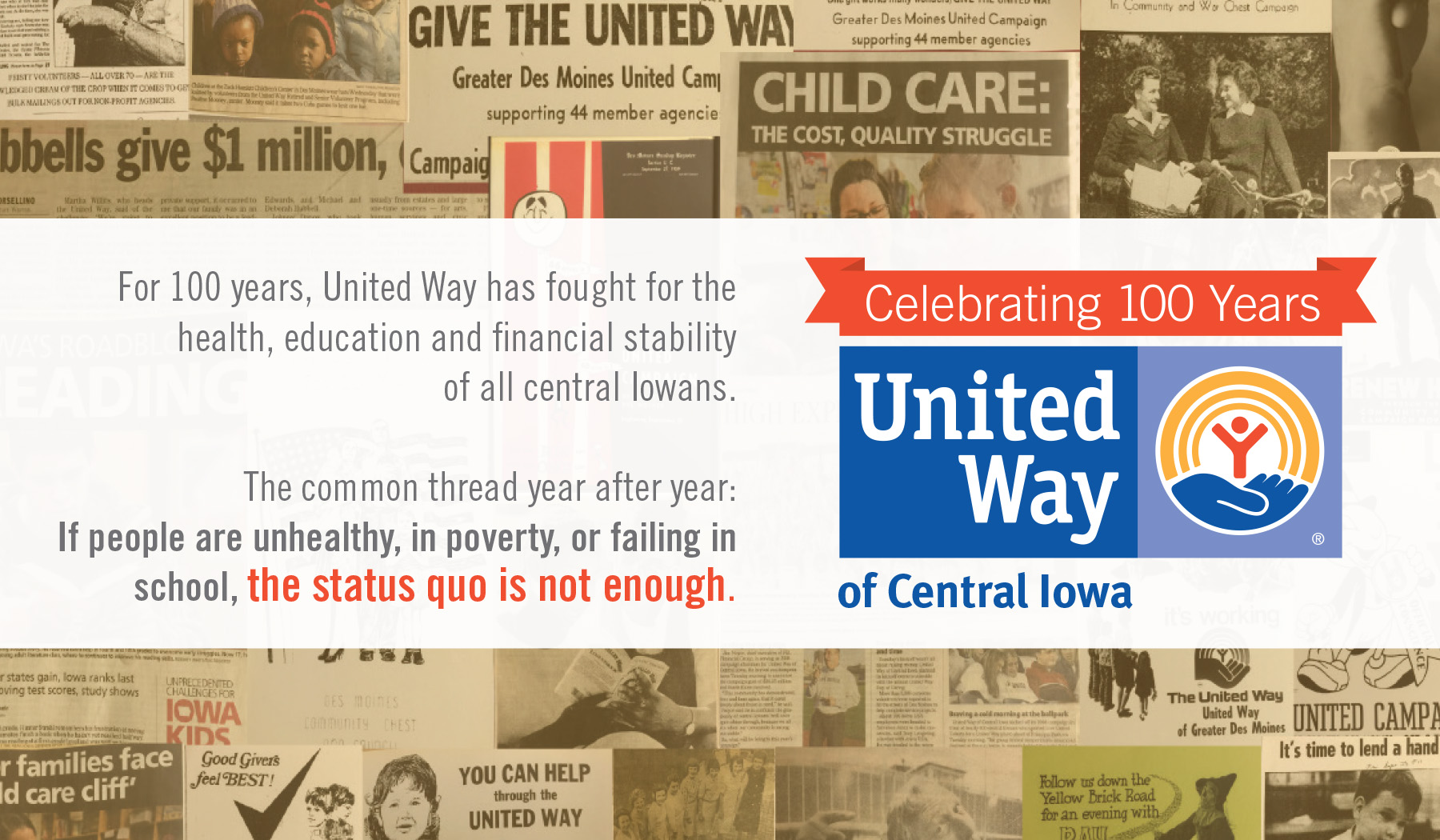 2016 United Way Campaign Brochure