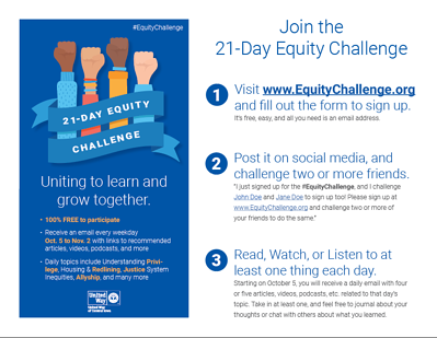 21-Day Equity Challenge - Join Flyer thumbnail