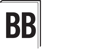 Book Buddy logo - white