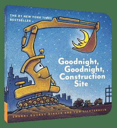 Goodnight, Goodnight, Construction Site - Sherri Rinker and Lichtenheld