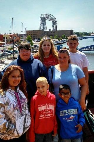 Jessenia and family
