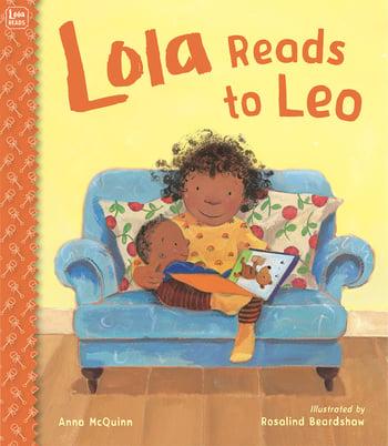 Lola Reads to Leo - Anna McQuinn