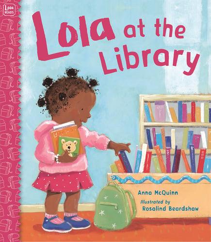 Lola at the Library - Anna McQuinn