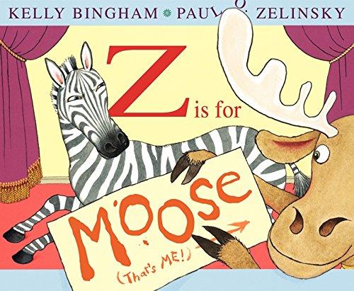 Z is for Moose - Kelly Bingham