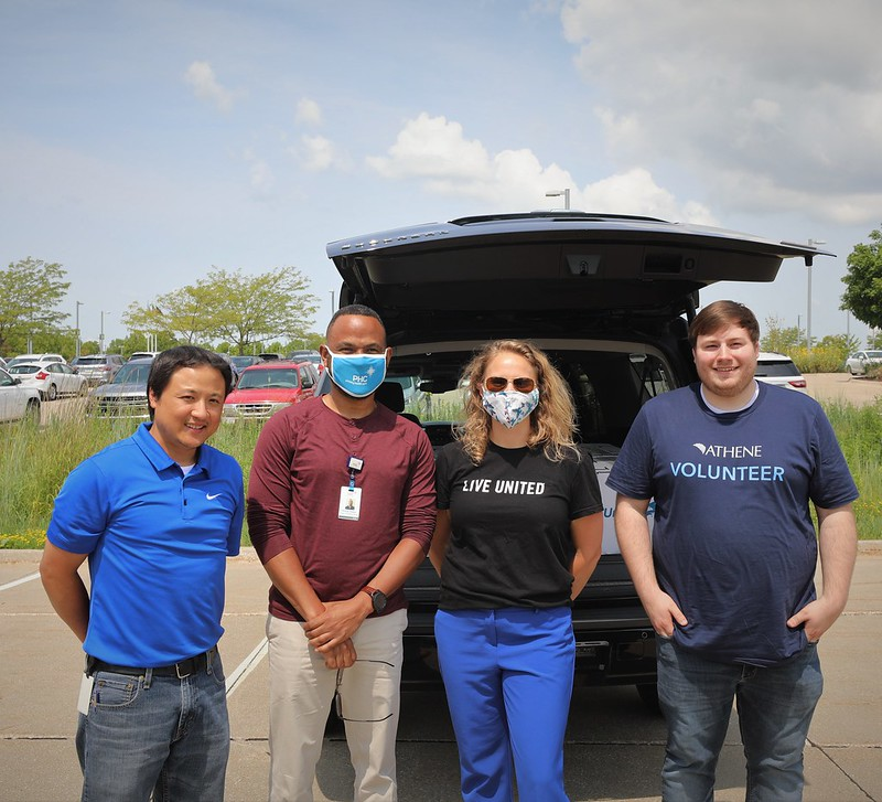 Athene donates 425 computers to United Way partner agencies