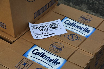 Cottonelle and United Way Worldwide #ShareASquare with Iowans