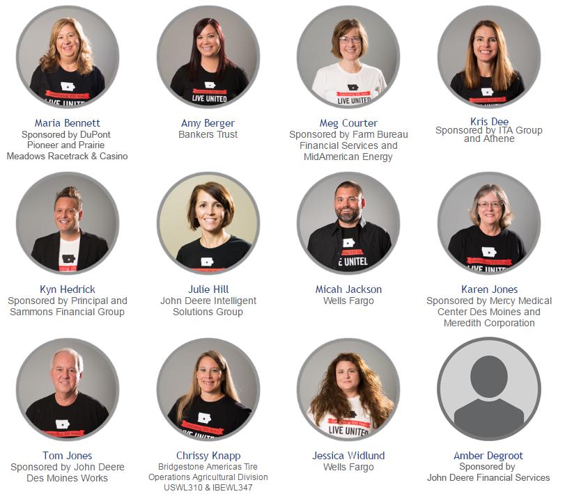 Meet the 2016 Loaned Executives