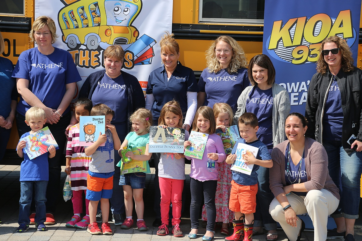 Stuff the Bus with books for kids